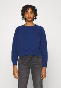 Lee - VINTAGE CROPPED  - Sweatshirt - washed blue - 0