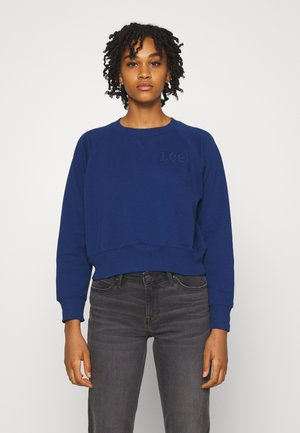 VINTAGE CROPPED  - Sweatshirt - washed blue