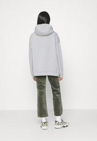 Nly by Nelly - OVERSIZED HOODIE - Hoodie - gray/blue - 2