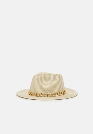 BROENI - Hat - light natural/gold-coloured