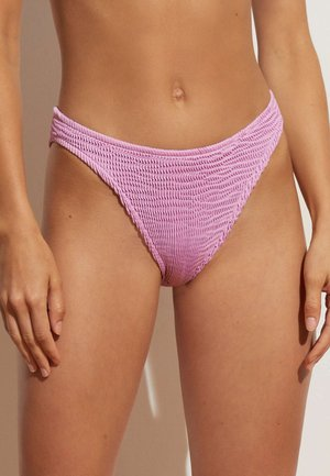 CRINKLED  - Bikini bottoms - purple