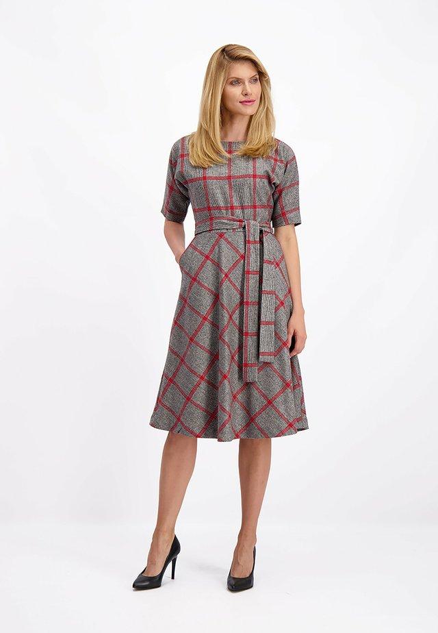 Gebreide jurk - multicolor