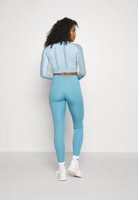 Calvin Klein Performance - LONG SLEEVE SEAMLESS  - T-shirt à manches longues - blue - 2