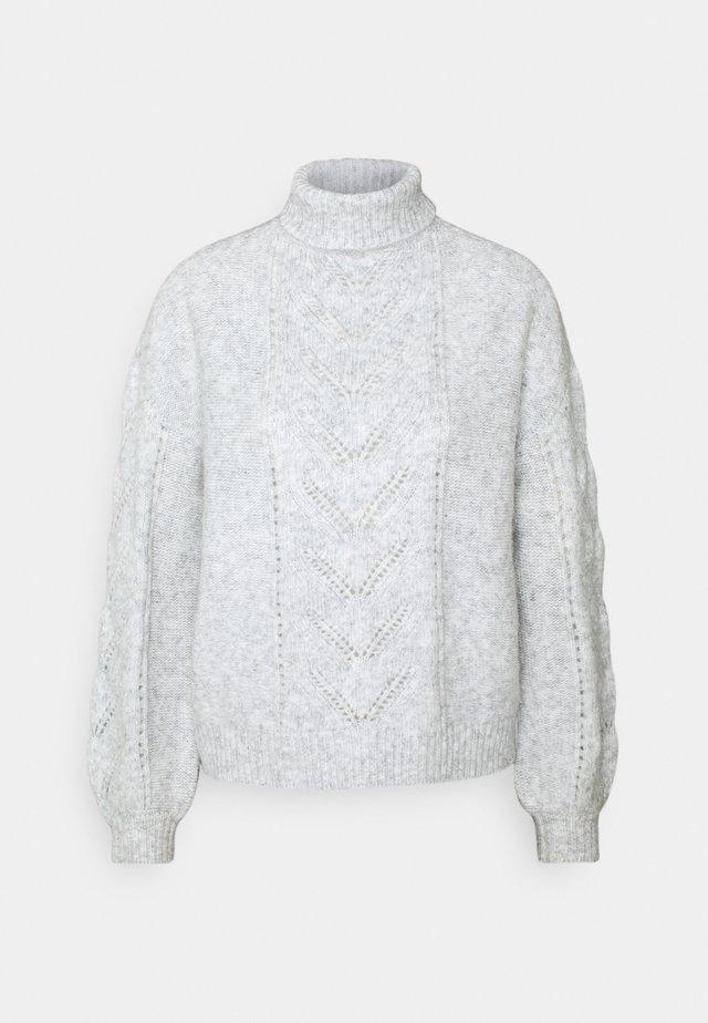 ALMERINDA - Strikpullover /Striktrøjer - gris clair chine