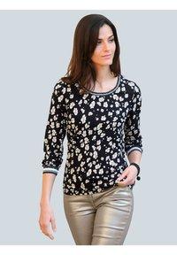 Alba Moda - Long sleeved top - schwarz,off-white,taupe - 0