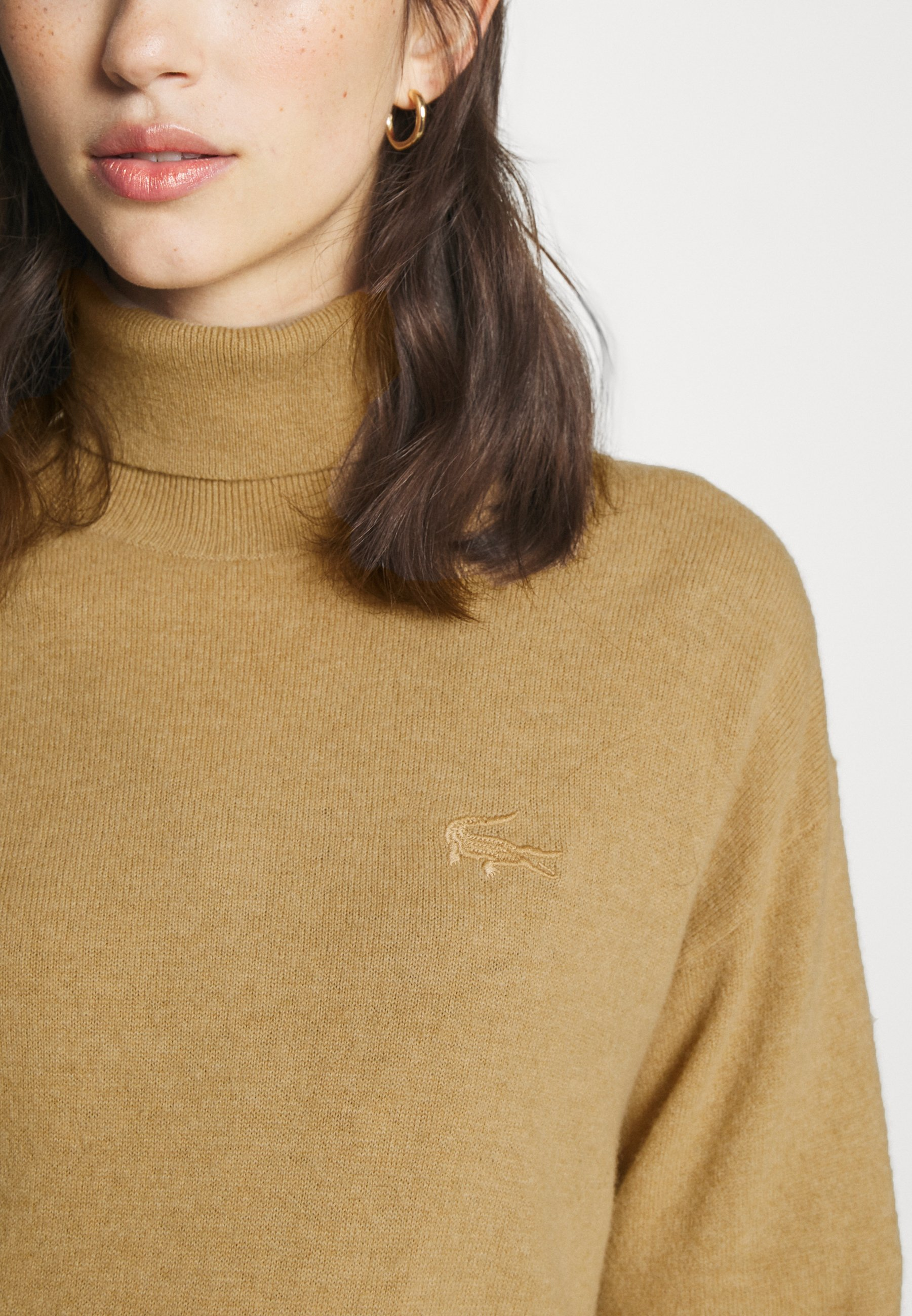 Donna TNECK PIPING DETAILS - Maglione