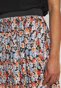 JDY - JDYBOA SKIRT - A-line skirt - black/light blue - 4