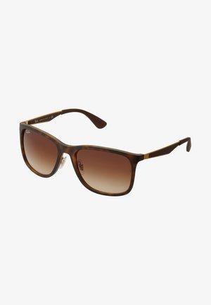 Okulary przeciwsłoneczne - matte havana