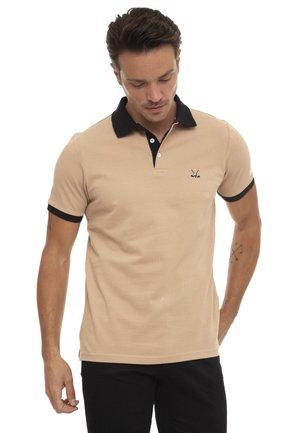 Koszulka polo - sand