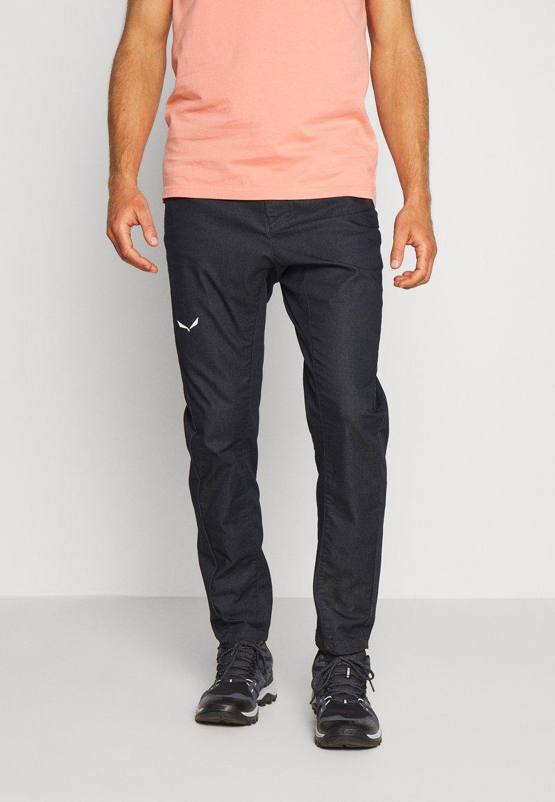 Salewa - AGNER DENIM  - Pantalon classique - light blue jeans