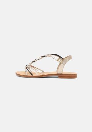 INDRIA - Sandaalit nilkkaremmillä - multi