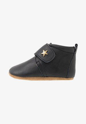 BABY STAR HOME SHOE - Babyskor - black
