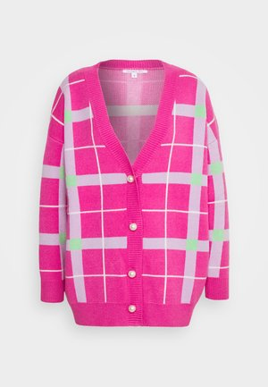 CECILY CARDIGAN - Strickjacke - pink