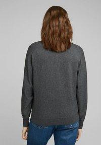 edc by Esprit - BADWING - Jumper - dark grey - 2