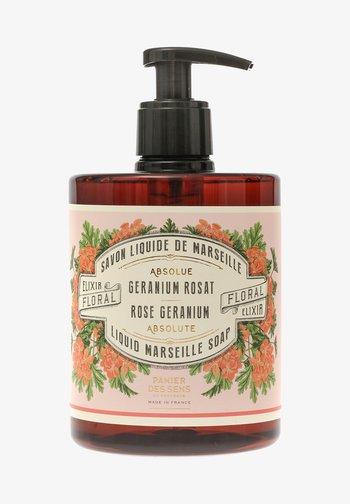 EXTRA MILDE FLÜSSIG SEIFE ROSENGERANIE 500 ML - Liquid soap - -
