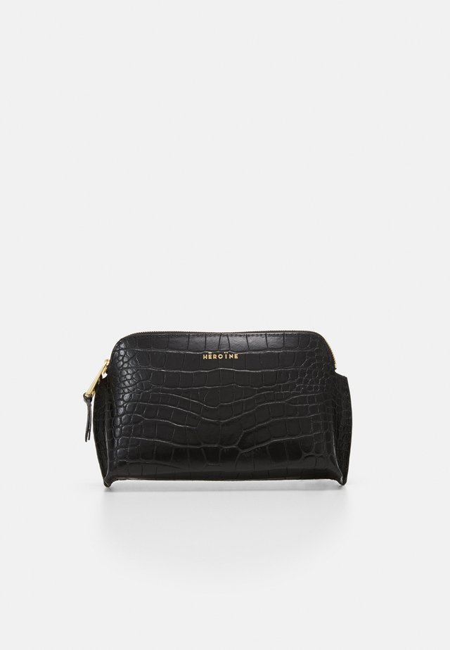 ANNE COSMETIC POUCH SMALL - Trousse - black
