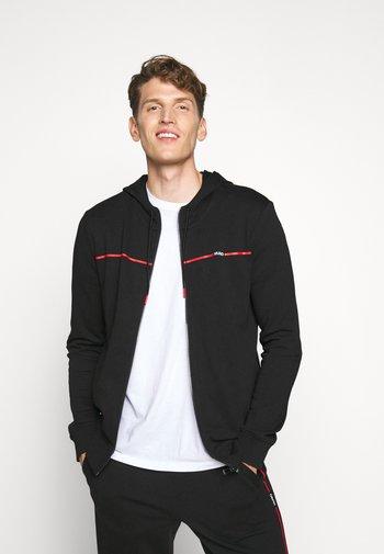 DAPIE - Zip-up sweatshirt - black