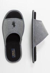 Polo Ralph Lauren - ANTERO - Slippers - grey/black - 1