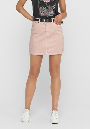 Denim skirt - rose smoke
