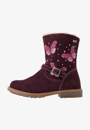 FIBY-TEX - Classic ankle boots - burgundy