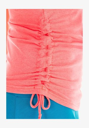 Top - neon coral