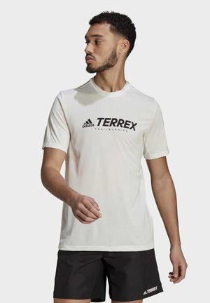 TERREX PRIMEBLUE TRAIL FUNCTIONAL LOGO T-SHIRT - Print T-shirt - white