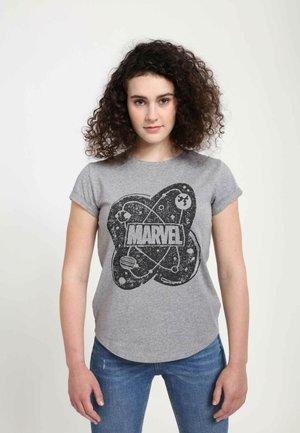MARVEL  ATOM  - T-shirts print - melange grey