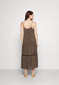Cotton On - BECKY STRAPPY RUFFLE MAXI DRESS - Maxi dress - black - 2
