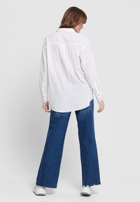 ONLY - Button-down blouse - white - 2
