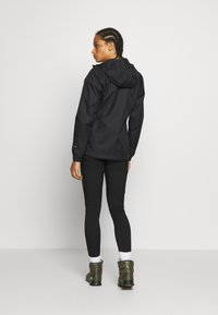 The North Face - QUEST JACKET - Chaqueta Hard shell - black/foil grey - 2