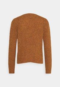 JDY - Cardigan - leather brown melange - 1