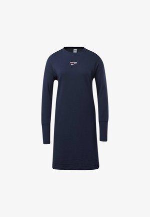 CLASSICS SMALL LOGO DRESS - Kjole - blue
