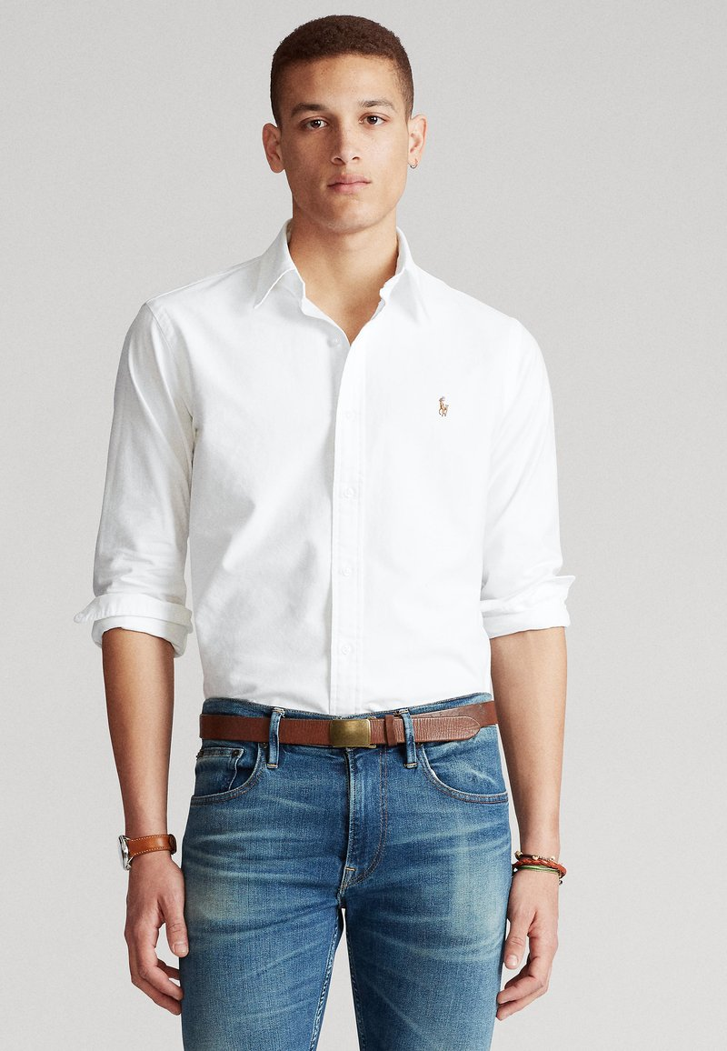 Polo Ralph Lauren - CUSTOM FIT  - Koszula - white