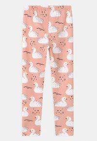 Walkiddy - PRINCESS SWANS 2 PACK - Leggings - Trousers - pink - 1