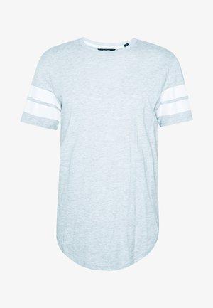 ONSMATTY LONGY TEE - T-shirt con stampa - light grey