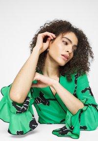 Diane von Furstenberg - SERENA DRESS - Robe d'été - green - 3