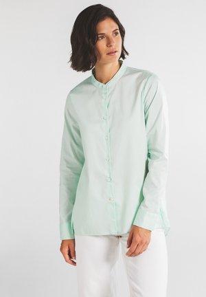Button-down blouse - mintgrün