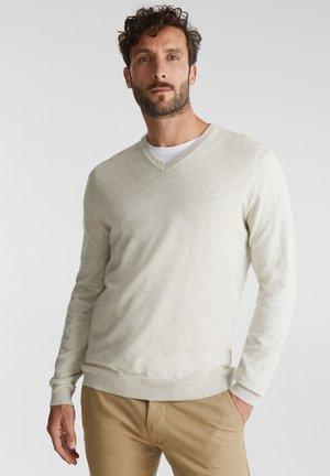 Strickpullover - light beige