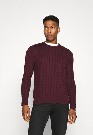 JJRICHARD CREW NECK - Jumper - port royale