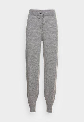 KARINA - Tracksuit bottoms - grey melange