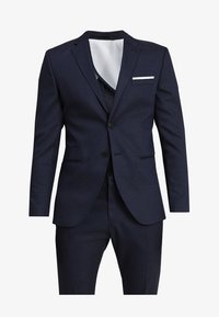 Selected Homme - SLHSLIM FIT ACECHACO SUIT - Jakkesæt - dark navy - 10