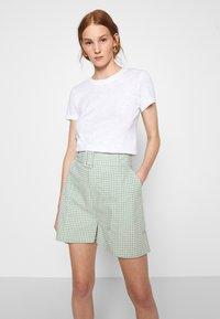 American Vintage - SONOMA - Basic T-shirt - blanc - 4
