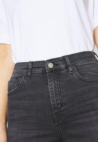 Topshop - JAMIE CLEAN - Jeans Skinny Fit - black denim - 5