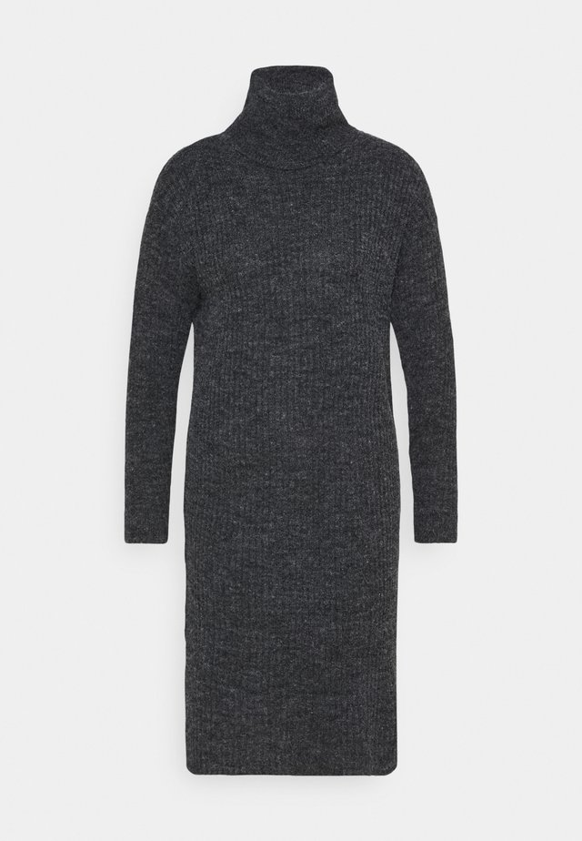 IHNOVO  - Stickad klänning - black