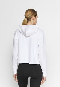 Puma - AMPLIFIED CROPPED HOODIE  - Mikina skapucí - white - 2
