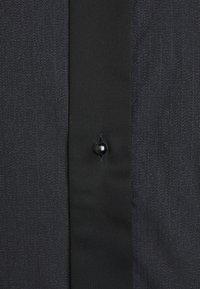 Eton - CONTEMPORARY GLITTER FRONT SHIRT - Shirt - black - 2