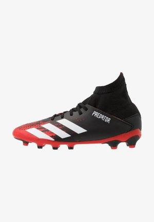 PREDATOR 20.3 MG - Botas de fútbol con tacos - core black/footwear white/core black