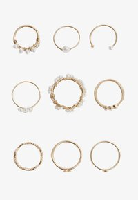 Stradivarius - 9 PACK - Ringar - gold - 2