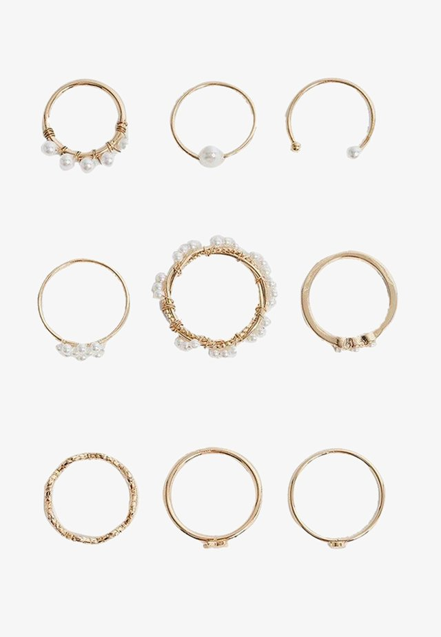 9 PACK - Bague - gold