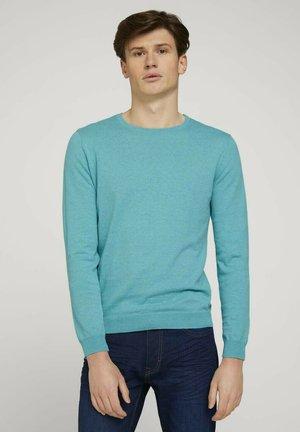 Sweater - dusty aqua